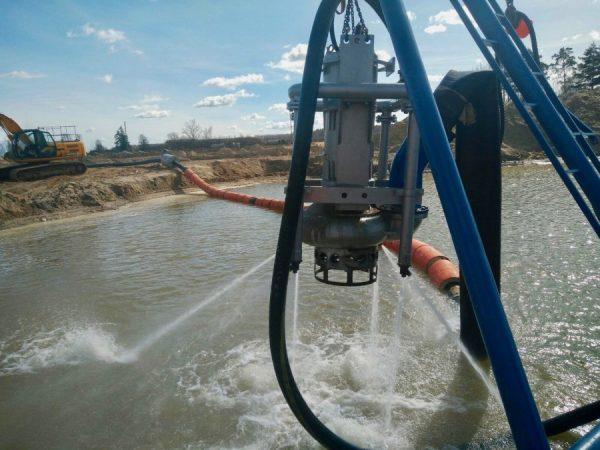 DRAGFLOW EL 1204 HC pump in action