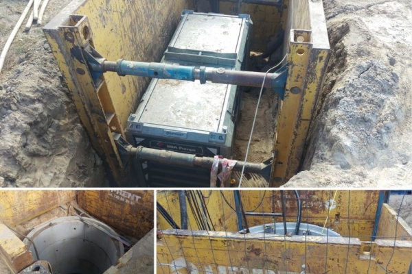 CONSTRUCTION OF SEWAGE SYSTEM